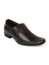 LEE COOPER MEN BROWN FORMAL SHOES