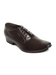 LEE COOPER MEN BROWN OXFORD FORMAL SHOES