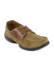 WOODLAND MEN BROWN BOAT SHOES II